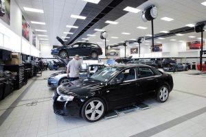 Audi-Techniciens
