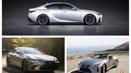 Lexus IS, EX et LC 2021