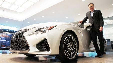 Cyril Dimitris, directeur gestionnaire Lexus/Scion Canada