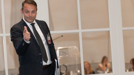 Claude Moureaux, directeur du marketing chez Desjardins