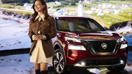 L'actrice québécoise Karine Vanasse est la nouvelle porte-parole de Nissan Canada au Québec.