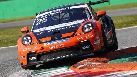 Porsche Mobil 1 Supercup, Test Monza 2021  #25 Larry ten Voorde (NL, Team GP Elite)