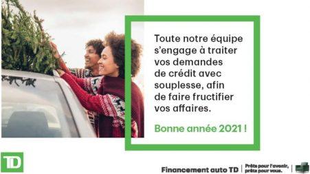 Financement Auto TD: 2020, une année record