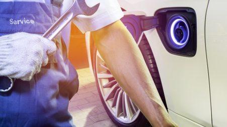 Réparation véhicule électrique