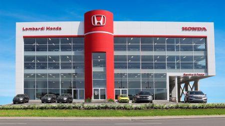 Lombardi Honda Montréal : bâtiment écoresponsable