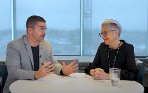 Antoine Joubert et Sylvie Brunelle de la BMO discutent de fraude en concession automobile